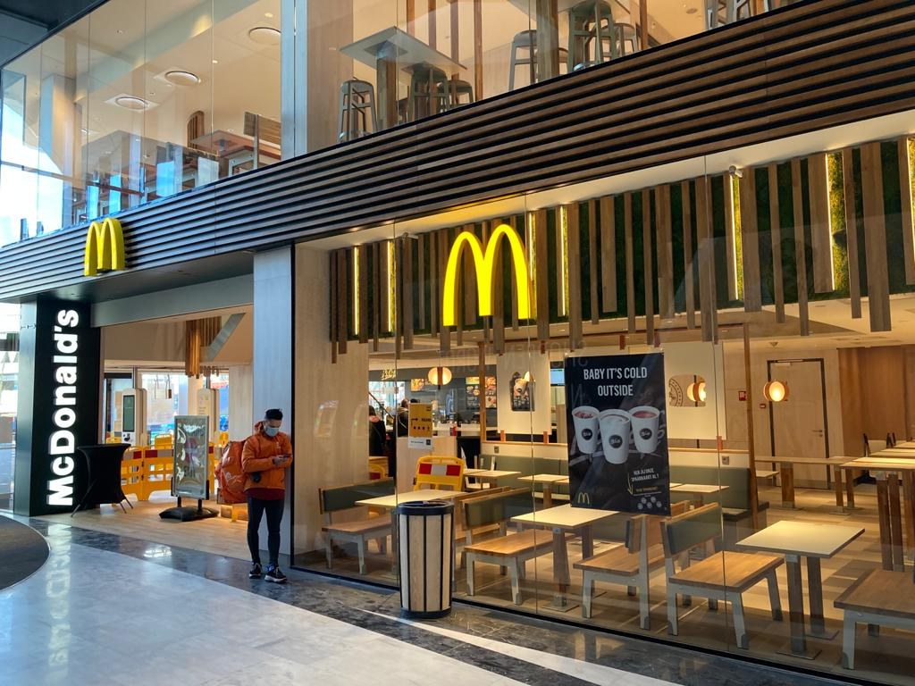 McDonalds Westfield Mall of the Netherlands